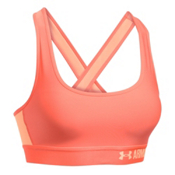 Under Armour Crossback Womens Sports Bra, London Orange-Playful Peach-Pl, medium