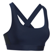 Under Armour Crossback Womens Sports Bra, Midnight Navy-Black-Black, medium