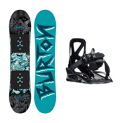 Burton Chopper Grom 2 Kids Snowboard and Binding Package, , medium