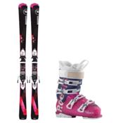 Rossignol Famous 2 AllTrack 70 Womens Ski Package, , medium