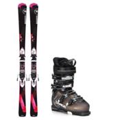 Rossignol Famous 2 SX 70 Womens Ski Package, , medium