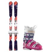 Rossignol Temptation 77 AllTrack 70 Womens Ski Package, , medium