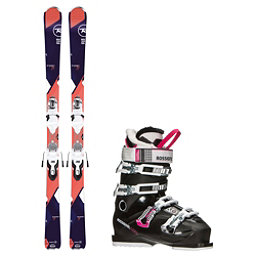 Rossignol Temptation 77 Kiara 60 Womens Ski Package, , 256