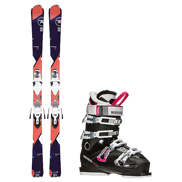 Rossignol Temptation 77 Kiara 60 Womens Ski Package, , 600