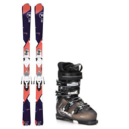 Rossignol Temptation 77 SX 70 Womens Ski Package, , 256