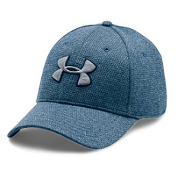 Under Armour Heather Blitzing Hat, Blackout Navy-Midnight Navy-St, 256