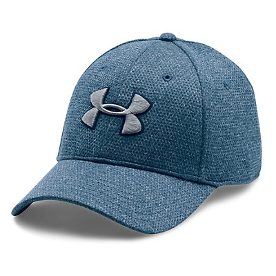 Under Armour Heather Blitzing Hat, Blackout Navy-Midnight Navy-St, viewer