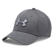 Under Armour Heather Blitzing Hat, Black-Steel-Black, medium