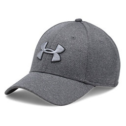 Under Armour Heather Blitzing Hat, Black-Steel-Black, 256
