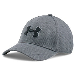 Under Armour Heather Blitzing Hat, Steel-Steel-Black, 256