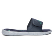 Under Armour Ignite Water Friendly Slide Mens Flip Flops, Blue Drift-Mineral Gray-Vapor, medium