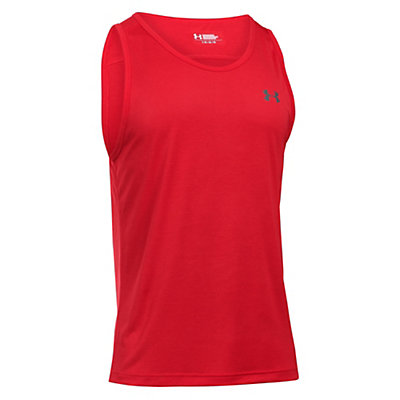 Under Armour Tech Tank Top, Red-Graphite, viewer