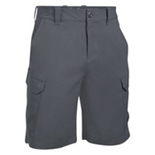 Under Armour Fish Hunter Cargo Mens Shorts, Rhino Gray-Black, medium