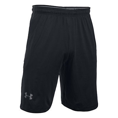 Under Armour Raid Mens Shorts, Black-Graphite, viewer