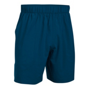 Under Armour Coastal Mens Shorts, Blackout Navy-Glacier Gray, medium