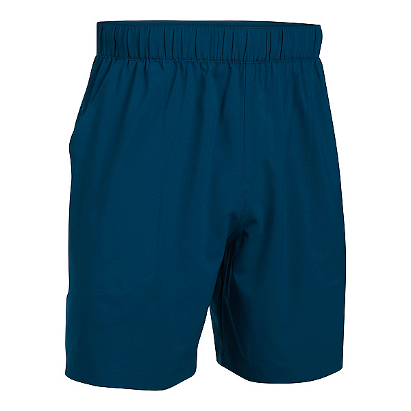 Under Armour Coastal Mens Shorts, Blackout Navy-Glacier Gray, 600