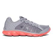 Under Armour Micro G Assert 6 Womens Athletic Shoes, Steel-London Orange-Rhino Gray, medium