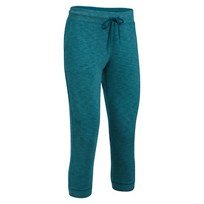 Under Armour Ocean Shoreline Capri Womens Pants, Marlin Blue-Marlin Blue, viewer