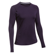 Under Armour Sunblock Long Sleeve Womens T-Shirt, Imperial Purple-Imperial Purpl, medium