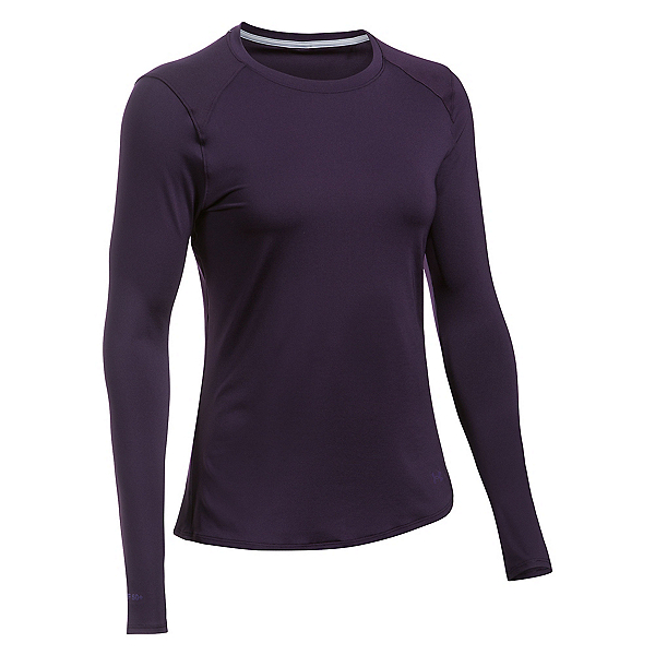 Under Armour Sunblock Long Sleeve Womens T-Shirt, Imperial Purple-Imperial Purpl, 600