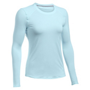 Under Armour Sunblock Long Sleeve Womens T-Shirt, Skylight-Skylight, medium