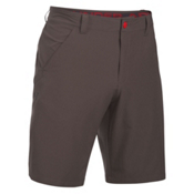 Under Armour Turf and Tide Stretch Mens Hybrid Shorts, Maverick Brown-Red-Black, medium