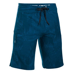 Under Armour Reblek Printed Mens Board Shorts, Blackout Navy-Black-Glacier Gr, 256