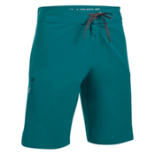 Under Armour Reblek Mens Boardshorts, Turquoise Sky-Rhino Gray-Tokyo, medium