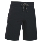 Under Armour Reblek Mens Board Shorts, Black-Graphite-Stealth Gray, medium