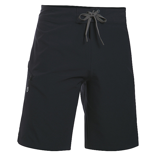 Under Armour Reblek Mens Board Shorts, Black-Graphite-Stealth Gray, 600
