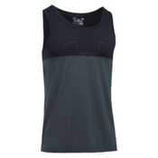 Under Armour Fractal Tank Top, Stealth Gray-Black-Stealth Gra, medium