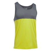 Under Armour Fractal Tank Top, Smash Yellow-Graphite-Smash Ye, medium