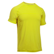 Under Armour Sunblock Mens T-Shirt, Smash Yellow-Smash Yellow, medium