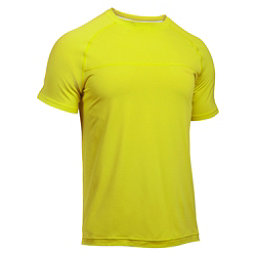 Under Armour Sunblock Mens T-Shirt, Smash Yellow-Smash Yellow, 256