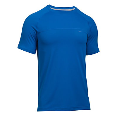 Under Armour Sunblock Mens T-Shirt, Blue Marker-Graphite, viewer