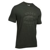 Under Armour Classic Bass Mens T-Shirt, Artillery Green-Foliage Green, medium