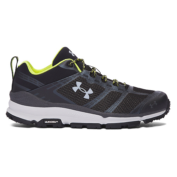 Under Armour Verge Low Mens Athletic Shoes, Black-Stealth Gray-Elemental, 600