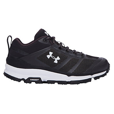 Under Armour Verge Low Womens Athletic Shoes, Black-Black-White, viewer