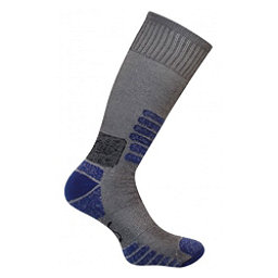 Euro Sock Nordic Womens Ski Socks, Grey-Blue, 256