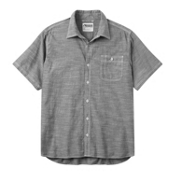 Mountain Khakis Mountain Chambray Short Sleeve Mens Shirt, Black, medium