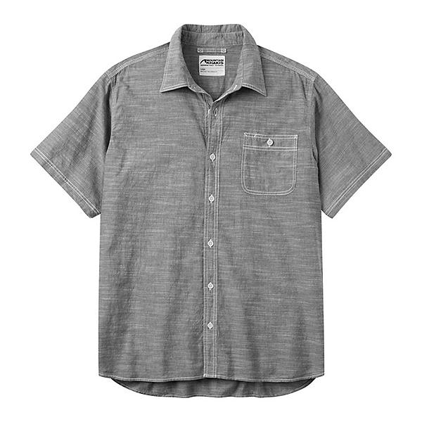 Mountain Khakis Mountain Chambray Short Sleeve Mens Shirt, Black, 600