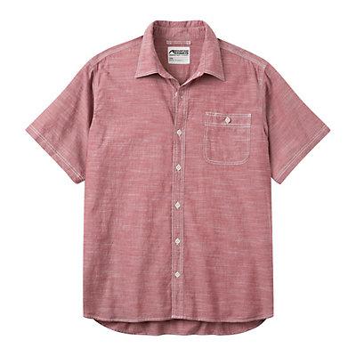 Mountain Khakis Mountain Chambray Short Sleeve Mens Shirt, Black, viewer