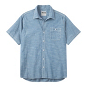 Mountain Khakis Mountain Chambray Short Sleeve Mens Shirt, Riviera, medium