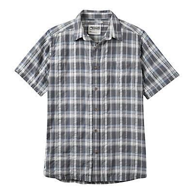 Mountain Khakis Crags EC Crinkle Short Sleeve Mens Shirt, Gunmetal, viewer