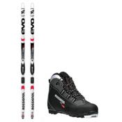 Rossignol Evo First 49 X-1 NNN Cross Country Ski Package, , medium