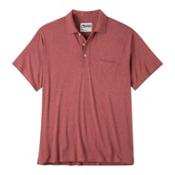 Mountain Khakis Patio Polo Mens Shirt, Rojo Heather, medium