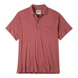 Mountain Khakis Patio Polo Mens Shirt, Rojo Heather, 256