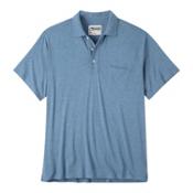 Mountain Khakis Patio Polo Mens Shirt, Blue Ridge Heather, medium