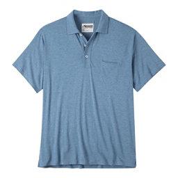 Mountain Khakis Patio Polo Mens Shirt, Blue Ridge Heather, 256