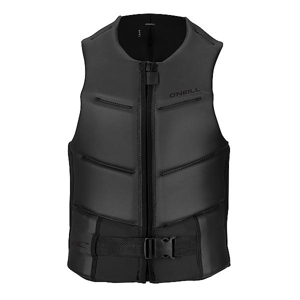 O'Neill Outlaw Comp Adult Life Vest 2017, Black-Black, 600